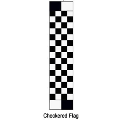 "Picture of Carefree  14' 2"" Checkered Flag w/ W WG Vinyl Patio Awning Fabric JU159A00 00-1637"