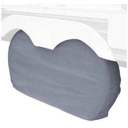 """Picture of Classic Accessories  1-Pack Gray 30"""" to 33"""" Diam Double Tire Cover 80-210-051001-00 01-0032"""