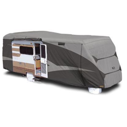 "Picture of ADCO Designer SFS Aquashed (R) Gray Fabric Cover For 20' 1""-23' Class C Motorhomes 52842 01-0266"