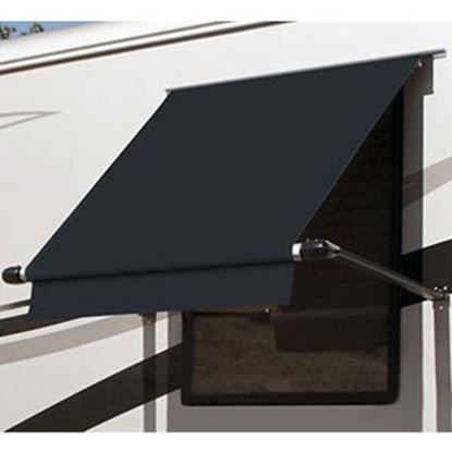 Picture of Carefree SimplyShade (R) Black 4.0' DIY Window Awning WG0404E4EB 01-0932