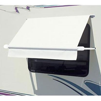 "Picture of Carefree SimplyShade (R) White 3' 6"" DIY Window Awning WH0354F4FW 01-0971"