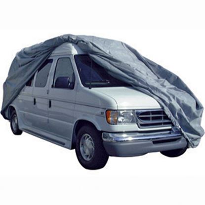 Picture of ADCO SFS AquaShed (R) Gray Fabric/Poly Medium Cover For Up To 21' Class B Motorhomes 12220 01-1122