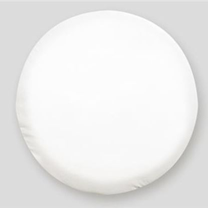 "Picture of ADCO  24"" Size N Polar White Spare Tire Cover 1759 01-1969"