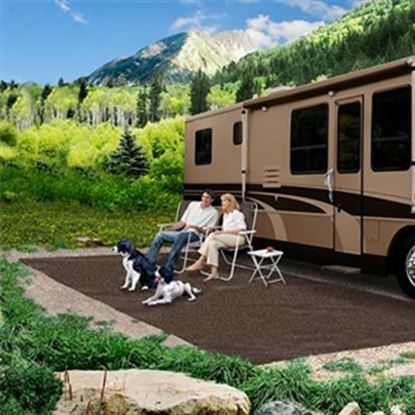 Picture of Prest-o-Fit  8' x 20' Espresso Camping Mat 2-1170 01-3083