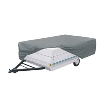 Picture of Classic Accessories PolyPRO (TM) 1 Gray Polypropylene Cover For 14'-16' Folding Camper Trailers 74503 01-3763