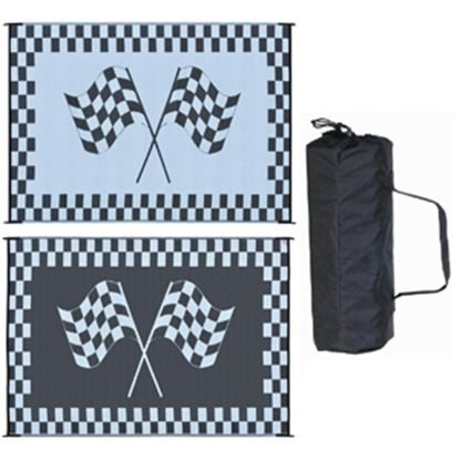 Picture of Ming's Mark  6' x 9' Black/White Reversible Camping Mat RF-6091 01-4724