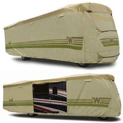 "Picture of ADCO Winnebago (TM) Tan Polypropylene Cover For 31' 1""-34' Class A Motorhomes 64825 01-8644"