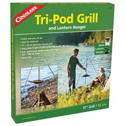 Picture of Coghlan's  Foldable Tripod Style Campfire Grill 9340 03-0026