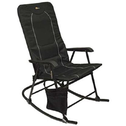 Picture of Faulkner  Black/Black Dakota Folding Rocking Chair 49597 03-0332