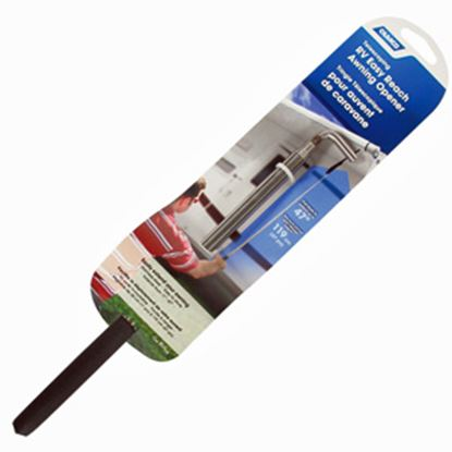 """Picture of Camco  11""""- 47"""" Telescoping Pull Cane For Roll Up Awnings 42544 03-0844"""