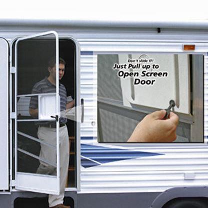 Picture of Camco  Screw In Mount Molded Plastic Screen Door Opener 43953 03-0948