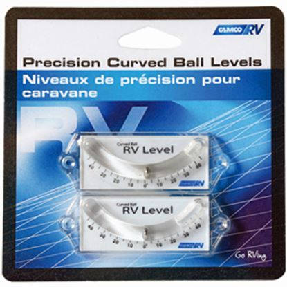 Picture of Camco  2-Pack Screw-On Curve Ball Design RV Level 25553 03-1163
