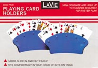 Picture of Jobar  2-Pack Hand Held Fan Shape Playing Card Holder To Hold 15 Cards JC673 03-2777