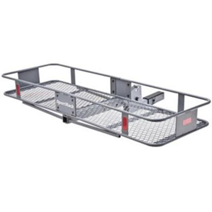 "Picture of Sport Rack  60""x20""x6"" 500 Lb Folding Cargo Carrier for 2"" Hitch SR9851 05-0057"