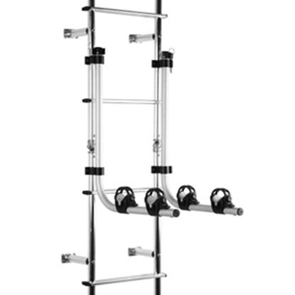Picture of Stromberg Carlson  2 Bicycle Frame Clamp Ladder Mount Bike Rack LA-102 05-0410