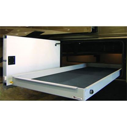 "Picture of MOR/ryde MOR/stor 800 lb Powder Coat 20"" W x 60"" D Cargo Slide w/Flooring CTG60-2060W 05-0472"