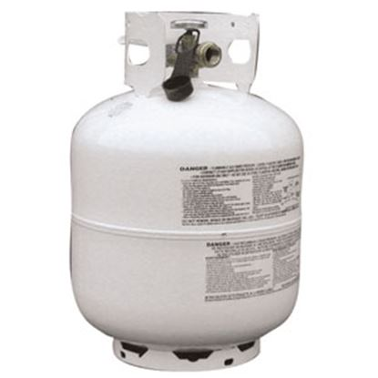 Picture of Flame King  20 lb DOT Portable LP Tank w/ Valve  06-0167