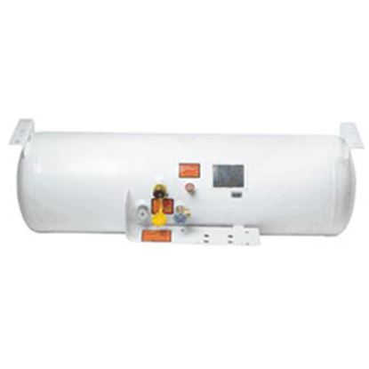"Picture of Flame King  12.2 Gal 28""L x 12""Dia ASME Permanent LP Tank w/ Valve  06-0614"