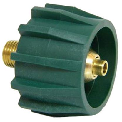 "Picture of MB Sturgis  Type 1 Connection w/ Check Valve x 1/4"" MPT LP Hose Connector 204052-MBS 06-0665"