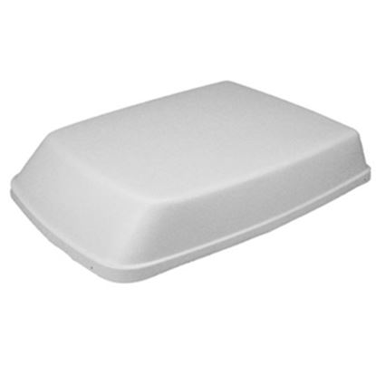 """Picture of Icon  Aerodynamic Polar White 40""""L Shroud For Dometic Air Conditioner 00752 08-0002"""