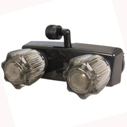 Picture of JR Products  Black Shower Valve w/Knob Handle QQ-SHMI-B-A 10-0039