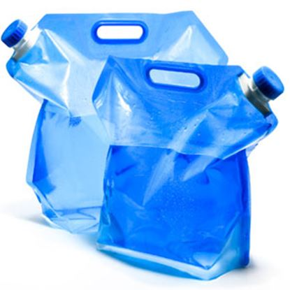 Picture of Camco  5 Liter Blue Expandable Water Carrier 51092 10-0051