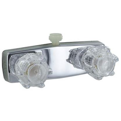 """Picture of Phoenix Faucets  4"""" Polished Chrome Plated Brass Shower Valve w/Clear Knobs PF213321 10-0288"""