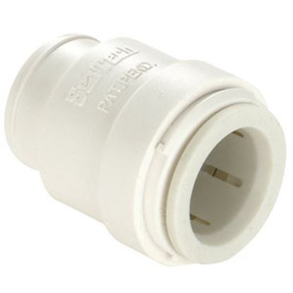 "Picture of Sea Tech 35 Series 3/4"" CTS White Polysulfone End Stop/Cap 013545-14 10-0308"
