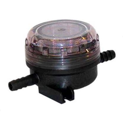 "Picture of Flojet  1/2"" x 1/2"" Hose Barb Fresh Water Pump Strainer For Flojet 01740002A 10-0717"