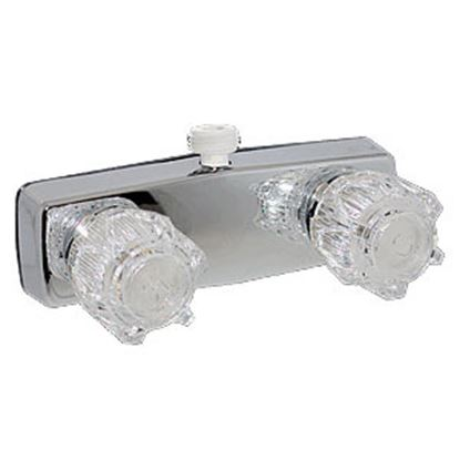 """Picture of Phoenix Faucets  4"""" Polished Chrome Plated Brass Shower Valve w/Clear Knobs PF213353 10-0999"""