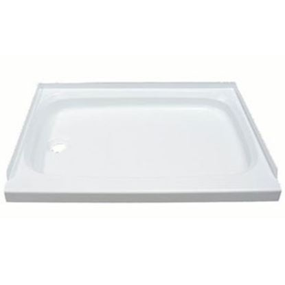 "Picture of Better Bath  Parchment 24""x40"" Rectangular Shower Pan 209498 10-1771"