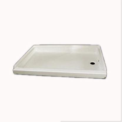 "Picture of Specialty Recreation  Parchment 24""x 24"" Center Drain Shower Pan SP2424P 10-1823"