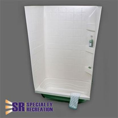 "Picture of Specialty Recreation  White 24""W x 32""L x 59""H Shower Surround TW2432W 10-1922"