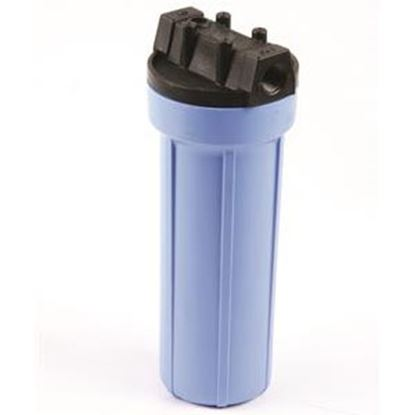 "Picture of SHURflo Pentek (R) 10""L 1/2"" Female Ports Water Filter Housing w/ Pressure Relief Valve 158195 10-2503"