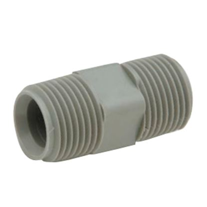 "Picture of QEST Qicktite (R) 1/2"" MPT Gray Acetal Fresh Water Coupler Fitting  10-3082"
