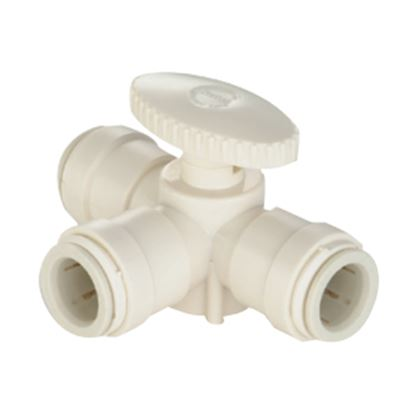 "Picture of Sea Tech 35 Series 1/2"" Female QC CTS Polysulfone Manifold Stacking Valve 013538-10 10-8179"