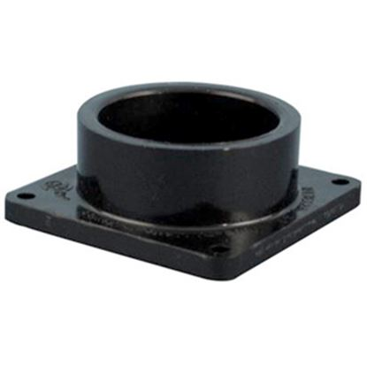 "Picture of Valterra  1-1/2"" Hub Plastic Waste Valve Fitting w/ Flange T1005-1 11-0608"