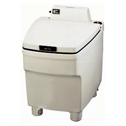 Picture of Thetford Electra Magic (R) Model 80 RV Electra Magic Model 80 RV Ivory High Profile Permanent Toilet 35831 12-0250