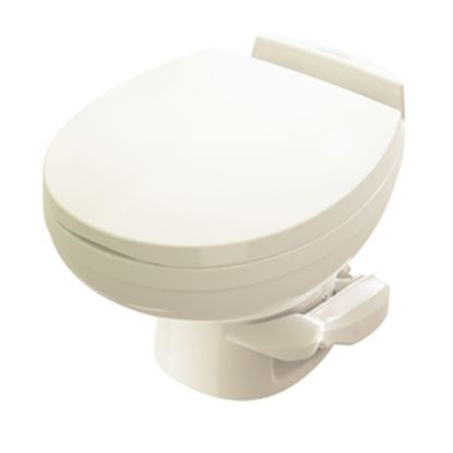 Picture of Thetford Aqua Magic (R) Residence Aqua Magic Residence Bone Low Profile Permanent Toilet 42172 12-0283