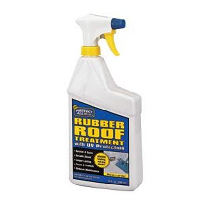 Picture of Protect All  32 OZ Trigger Spray Bottle Rubber Roof Protectant 68032 13-0423