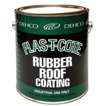 Picture of Plas-T-Cote  1 Gal White Roof Coating 16-46128-4 13-1545