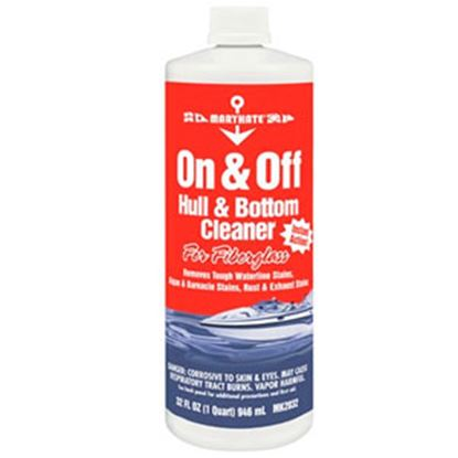Picture of CRC On & Off 32 Oz Bottle RV & Boat Hull Cleaner MK2032 13-1728