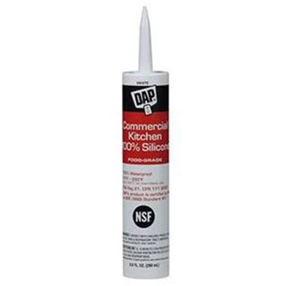 Picture of DAP  9.8 Oz Silicone Caulk 08660 13-5800