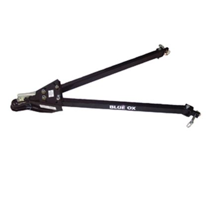 "Picture of Blue Ox Adventurer Class III 5000LB 2"" Coupler Ball Mount 36"" Adj Arm Steel Tow Bar BX7322 14-5210"