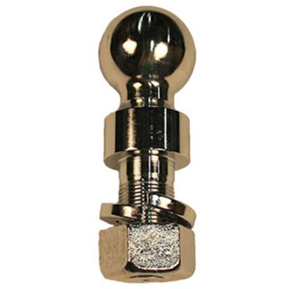 """Picture of Blue Ox  2-5/16"""" Trailer Hitch Ball w/ 1-1/4"""" Diam Shank BX88234 14-5250"""