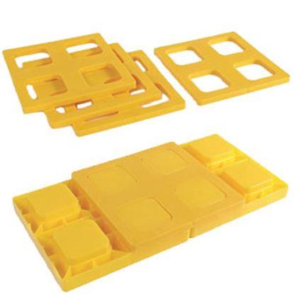 Picture of Camco  4-Pk Plastic Interlocking Levelling Blocks w/Storage Bag 44500 15-0099
