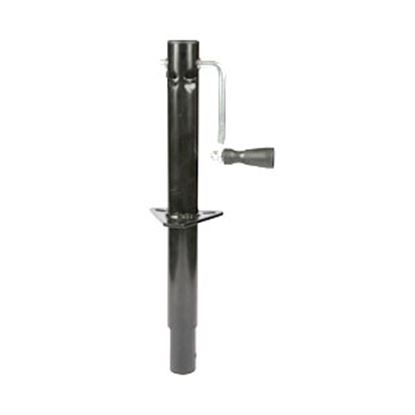 Picture of Ultra-Fab  Black 1000 Lb A-Frame Round Sidewind Trailer Jack 49-954030 15-0419