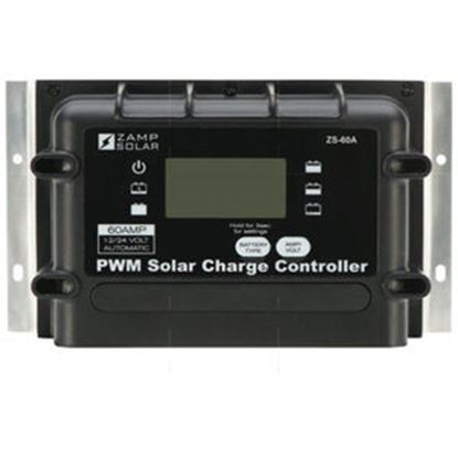 Picture of Zamp Solar  Digital 1000W 60A Battery Charger Controller for Zamp Solar 12V Batteries  15-7107