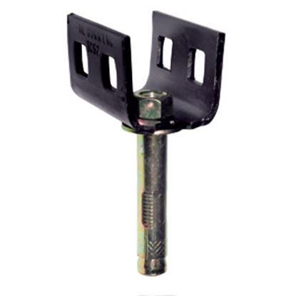 Picture of Tie Down Engineering  Black Painted Concrete Slab/ Double Head Threaded Ground Anchor 59125 16-0040