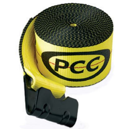 "Picture of Pacific Cargo  4"" x 30' Winch Strap w/ Flat Hook 4530-FH 16-0663"